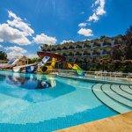 Play pool & slides