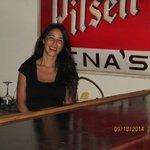 Gina at 'Gina's :)