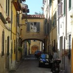Via D'Ardiglione B&B on right