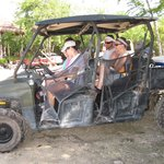 ATV into jungle
