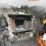 Un feu de cheminée bien agréable