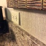 Electrical Outlet by Wetbar