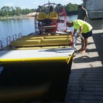 Capt. Mike and the airboat!