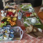 The FABBB breakfast at Il Pavone