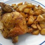 pollo e patate arrosto