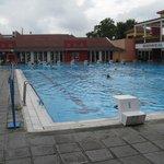 The 25 meter pool