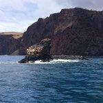 Shark Fin rock-- AMAZING SNORKEL
