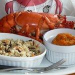 Lobster Dinner - Yum!