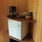 Fridge & Coffee Maker