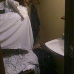 Sink, wardrobe