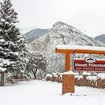 Mt Princeton Winter Sign