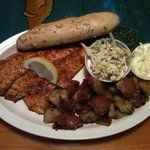 I love the aioli with the blackened fish...my new fav...you should definitely try it...you won't