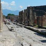 Pompeii street - not pushchair friendly!!