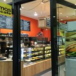 Delicious salads, pastas and sandwiches plus great coffee