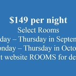 Special Rate $149