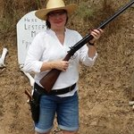 Sharp-shooter Sharon!