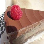 Taken 09/15/2014 : chocolate/raspberry mousse