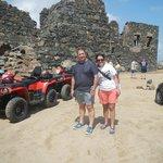 ruinas de mina de ouro