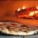 Authentic wood fired pizza