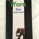 iYara menu