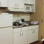Standard double room #321 - kitchen