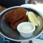 Fish Croquettes & Aoli starter