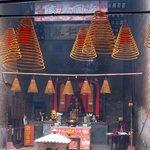 Pek Tai Temple - Incense