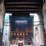 inner court of Pek Tai Temple in Macau