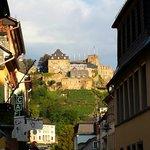 Blick auf Burg Rheinfels