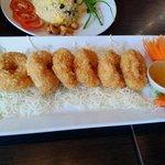 Shrimp cake - must eat item!