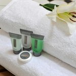 Quality linen and toiletries