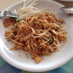 Phad Thai kai @ THE Orchids! Best i have ever had.