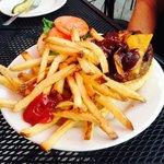 Kid Kahn & french fries