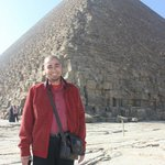 With the great pyramid