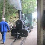 little old steam engine