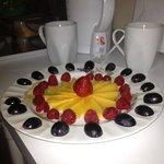 Delicious fruit platters