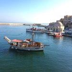agreable vue sur le port venitien
