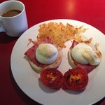 Good bad and the ugly - eggs benedict to you and me. Gorgeous!