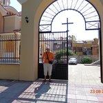 Вход на территорию церкви Св.Никола