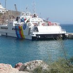 Sea Star ferry from Rhodes to Tilos