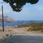 View across Livadia bay