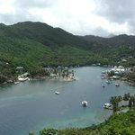 View of Marigot Bay