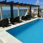 Rooftop terrace & plunge pool.