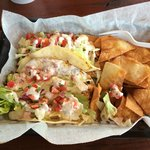 Mahi Tacos at Crabby Chris