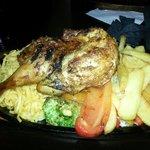 1/2 baby chicken��
