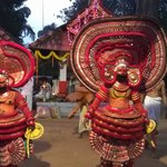 Theyyam at a local temple