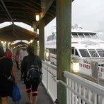 Boarding the Yankee Freedom 3 in Key West