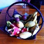 Market fresh real fruit