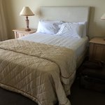 Main bedroom, bed so comfortable 38G Sub Penthouse Sep 2014