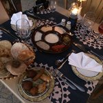 Appetisers at the Gamila A La Carte Restaurant - Egyptian